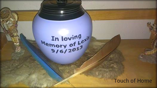 lexi's urn back custom