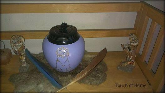 lexi's urn front custom